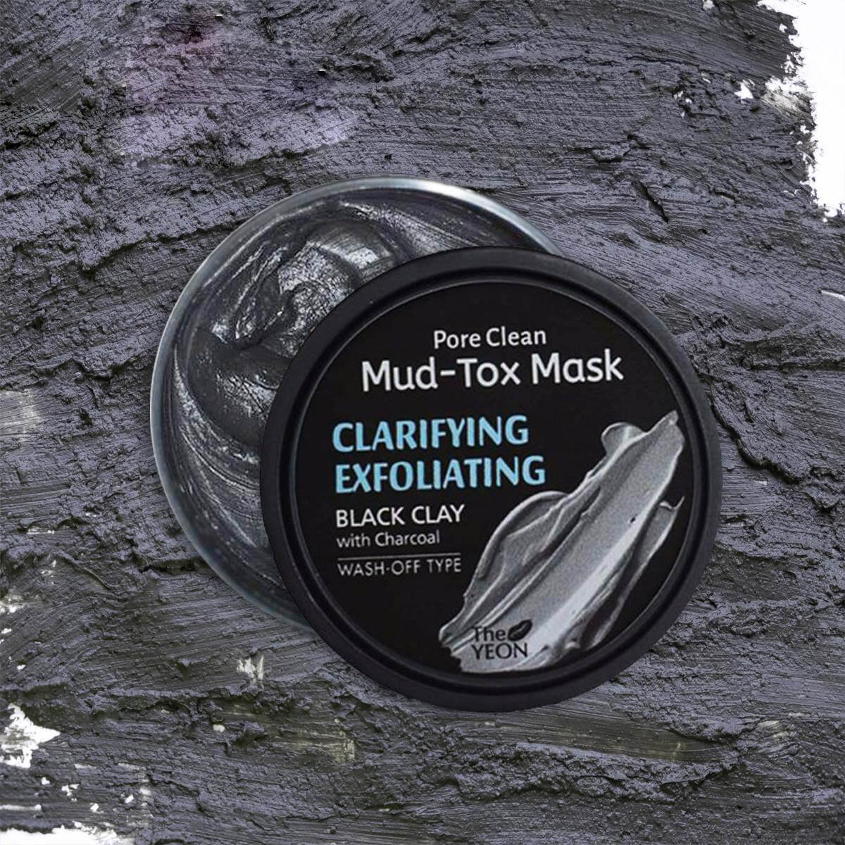 The Yeon Pore clean Mud Tox Mask – with Kaolin Clay