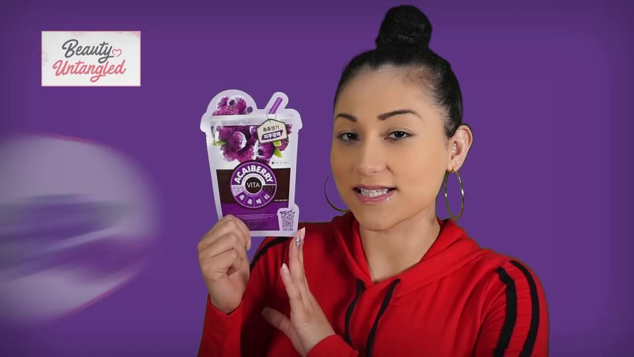 Review: MediHeal Acai Berry Mask