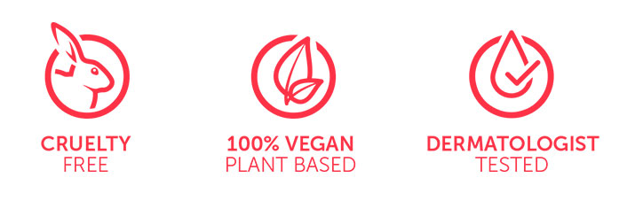 Urban Secrets is a 100% Vegan, Dermatologist tested and Cruelty-free brand.